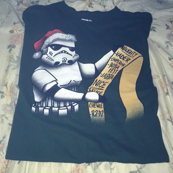 Star Wars Stormtrooper Naughty Nice Shirt